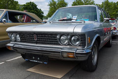 Large executive car Fiat 130 Stock Photo