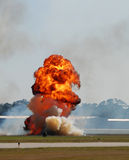 Large explosion Royalty Free Stock Images