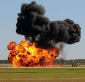 Large explosion Royalty Free Stock Image
