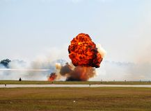 Large explosion Stock Images