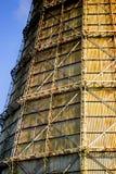 Large factory chimney of slate Royalty Free Stock Image
