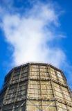 Large factory chimney of slate Stock Photography