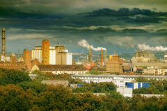 Large factory Royalty Free Stock Images