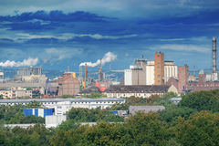 Large factory Royalty Free Stock Photography
