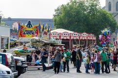 Large fair in Essen Werden Royalty Free Stock Photos