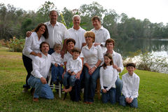 Large family Stock Photos