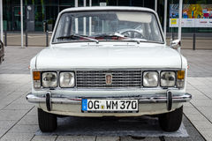 Large family car Fiat 125 Special, 1971. Stock Image
