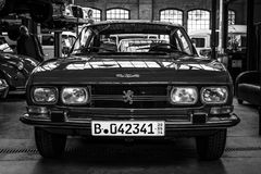 Large family car Peugeot 504 Stock Images