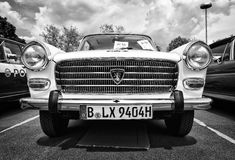 Large family car Peugeot 404 Stock Images