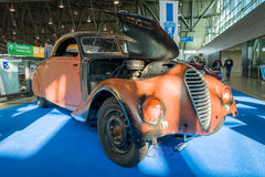 Large family car Peugeot 402 Eclipse, 1938. Royalty Free Stock Image
