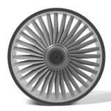 Large fan Royalty Free Stock Images