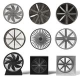 Large fans Stock Photography
