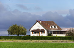Large farm country house Royalty Free Stock Photography