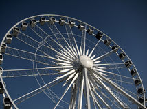 Large Ferris wheel  Stock Images