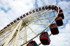 Large ferris wheel Royalty Free Stock Photos