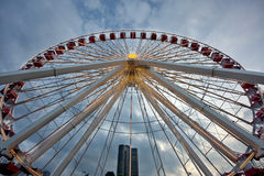 Large Ferris Wheel Stock Image