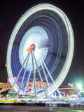 Large Ferris wheel in Bangkok with movement Stock Photography