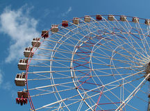 Large Ferris wheel Stock Images
