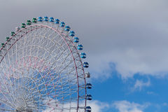Large Ferris Wheel close up Royalty Free Stock Image
