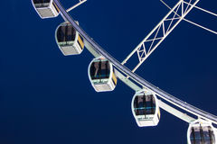 Large ferris wheel in night time 3 Royalty Free Stock Photography