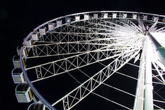 Large ferris wheel in night time 2 Royalty Free Stock Photography