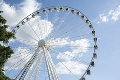 Large ferris wheel. Royalty Free Stock Photos