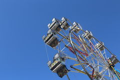 Large Ferris wheels cabins Royalty Free Stock Photo