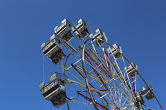 Large Ferris wheels cabins Stock Photography