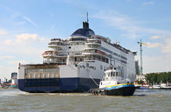 Large Ferry Stock Photography