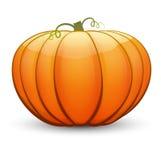 A large festive pumpkin. Vector illustration in cartoon style Stock Photo