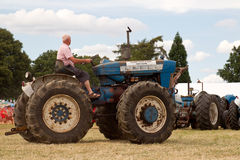 Large field tractor Stock Photos