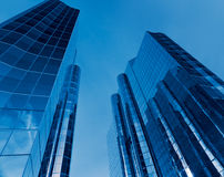 Large Financial Office Buildings Royalty Free Stock Photos