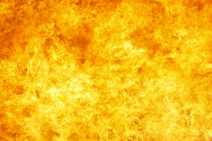 Large Fire Background Stock Photography