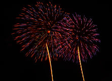 A large Fireworks Display event. Royalty Free Stock Image