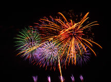 A large Fireworks Display event. Stock Images