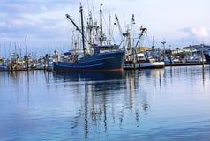 Large Fishing Boat Westport Grays Harbor Washington State Stock Photos