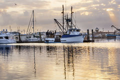 Large Fishing Boat Westport Grays Harbor Washington State Royalty Free Stock Photo