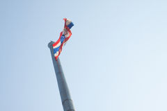 Large Flag of Thailand. Stock Images