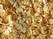 Large flake oatmeal. Background royalty free stock photo