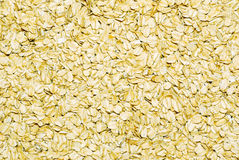 Large flake oatmeal Stock Images