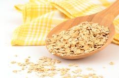 Large flake oats Royalty Free Stock Image