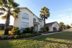 Large Florida Home Royalty Free Stock Photos