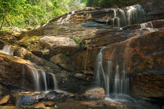 Large Forest Waterfall Royalty Free Stock Photo