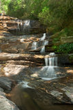 Large Forest Waterfall Royalty Free Stock Photography