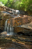 Large Forest Waterfall Stock Photography