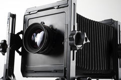 Large format camera Royalty Free Stock Images