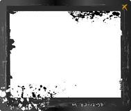 Large format glass plate negative, Royalty Free Stock Photography