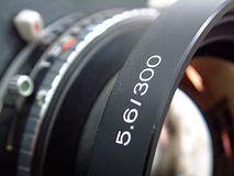 Large format lens Stock Images
