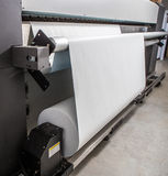 Large format printer. In factory Stock Photo