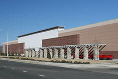 Large Format Retail. Big Box Retail Store Facade stock image